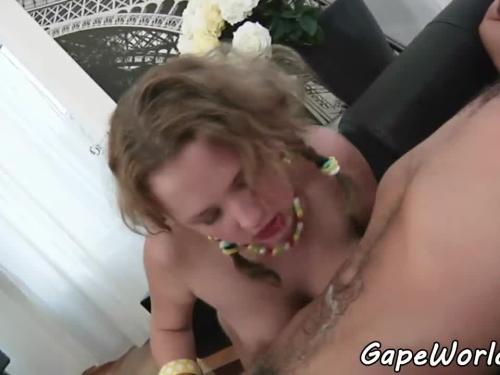 Gaping euro babes rimming every other
